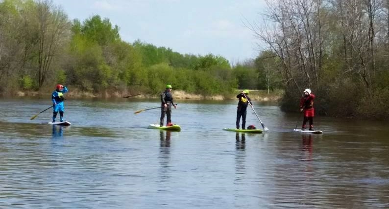 River SUP Whitemouth River